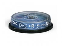 TDK DVD+R 10-Pack 16x (4.7GB) [DVD+R47CBED10]