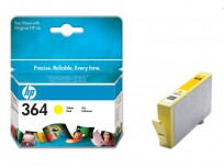 Hewlett Packard HP 364 Yellow Inkjet Print Cartridge [CB320EE]