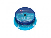 Verbatim CD-R Extra Protection 25-Pack Spindle 52x (700MB) [43432]