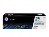 Hewlett Packard HP 128A Cyan LaserJet Print Cartridge [CE321A]