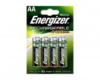Energizer Accu Rechargable Battery AA 2450mAh [pack of 4]