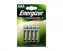 Energizer Accu Rechargable Battery AAA 1000mAh [pack of 4]