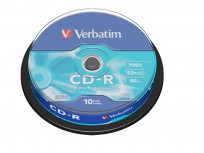 Verbatim CD-R Extra Protection 10-Pack Spindle 52x (700MB) [43437]